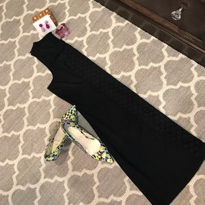 Sz L Old Navy Black Cocktail Dress EUC